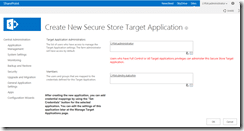 Add the users and groups that will be mapped to the credentials defined for the Target Application