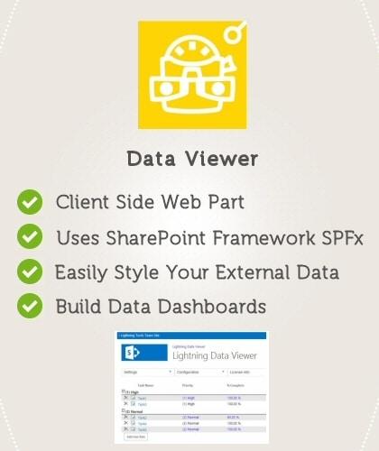 Data Viewer Web Part