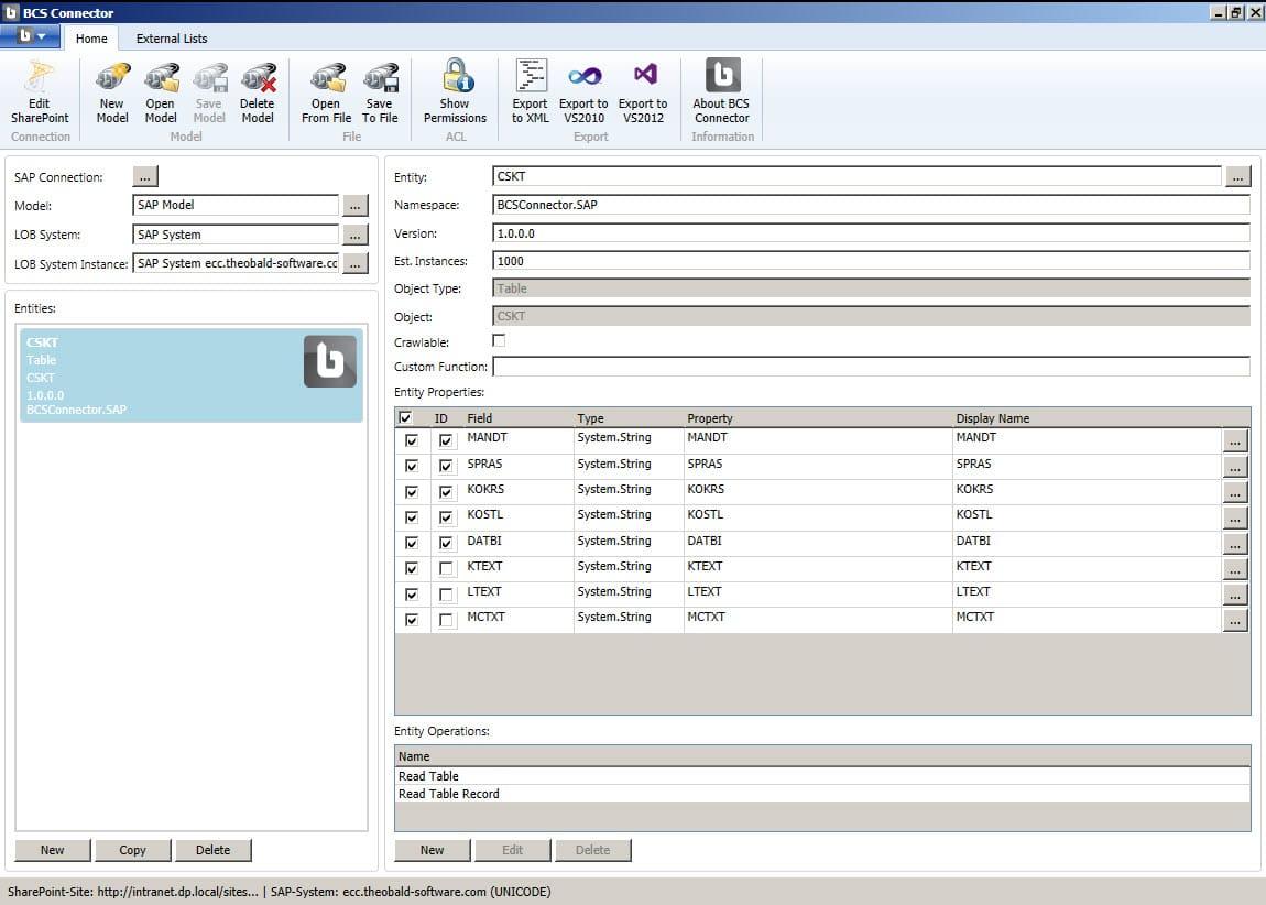 Lightning Tools SAP Connector
