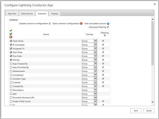 Lightning Tools Office 365 apps