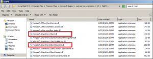 Add SharePoint Client Assemblies