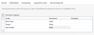 SharePoint App Permissions