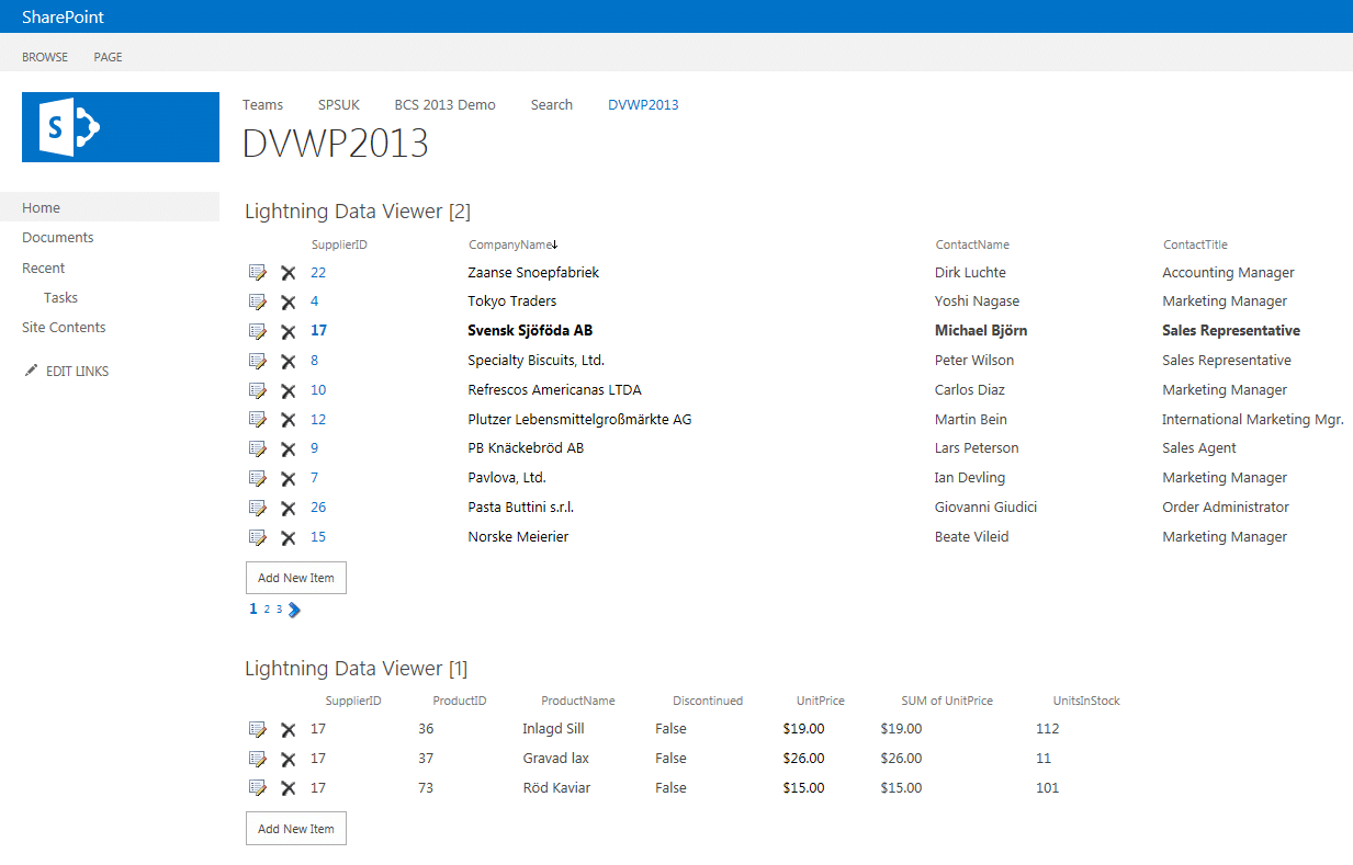 Data View Web Part SharePoint 2013
