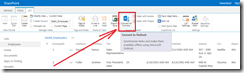 Click the Connect to Outlook button