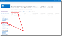 Search Content Source
