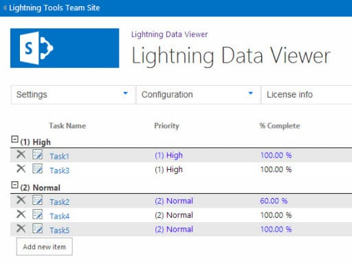 Data View for Office 365