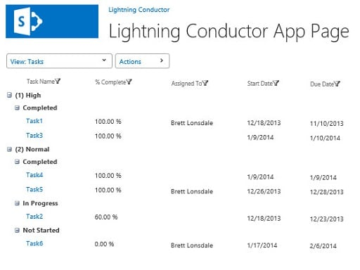 Lightning Conductor for Office 365