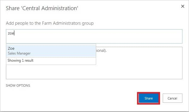 When is a SharePoint Farm Administrator not a SharePoint Farm