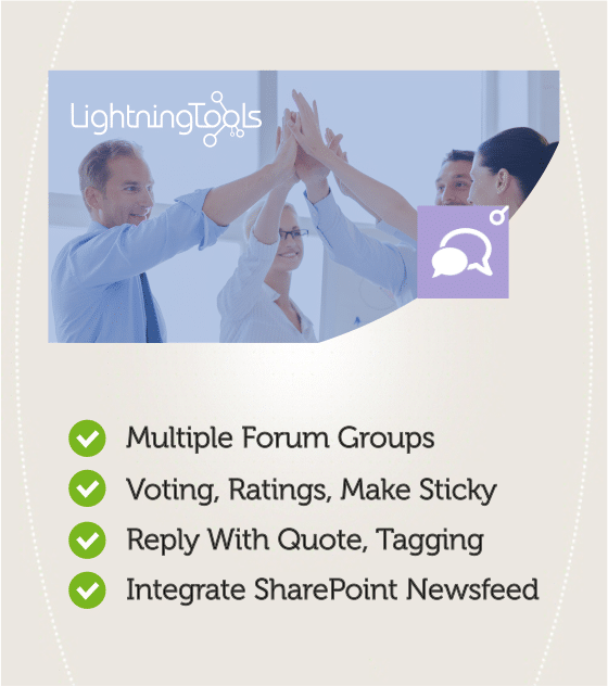 Social Squared - SharePoint Discussion Forum Web Part