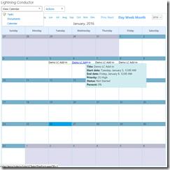 SharePoint Calendar Rollup