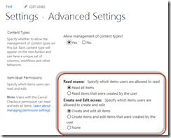 SharePoint Permissions Tips - Refinements