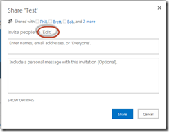 SharePoint Permissions Tips - Edit Permissions