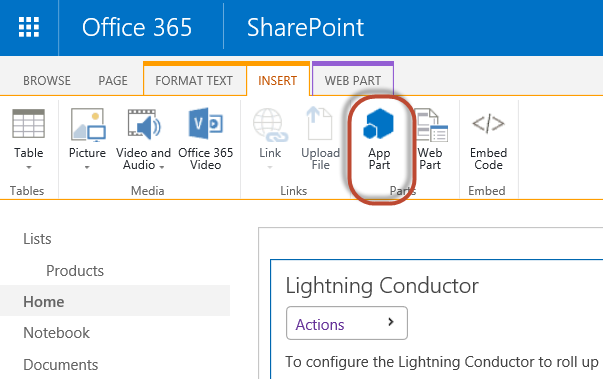 SharePoint Online List Rollup - Lightning Tools