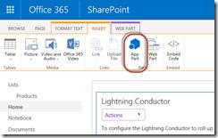 SharePoint Online List Rollup App Part