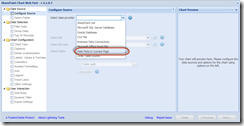 Set the SharePoint Chart to the Connected Web Part