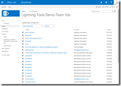 SharePoint Online Rollup Documents