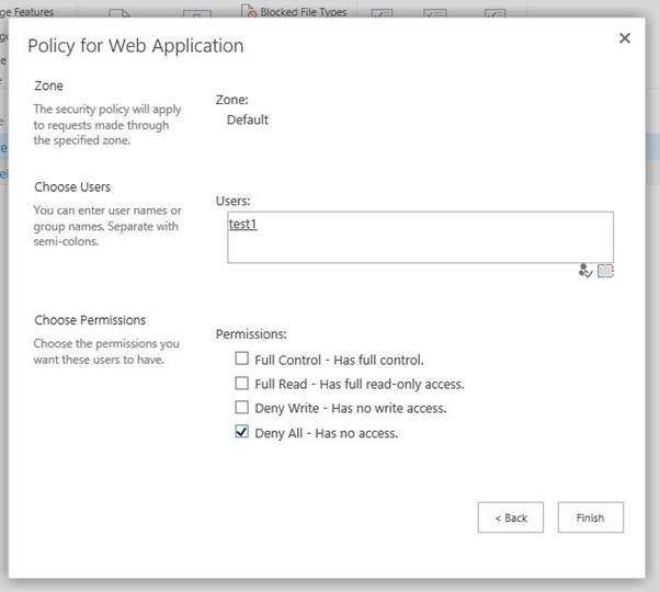 Deny Access to Users in SharePoint - Lightning Tools