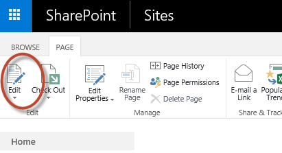 how to add a web part page in sharepoint 2016