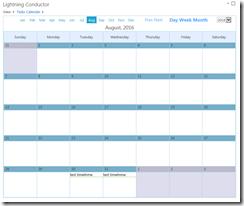 SharePoint Calendar Rollup Web Part