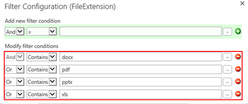 SharePoint Online Document Library Rollup Filter