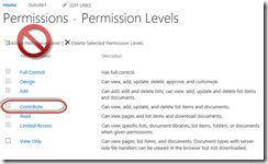 SharePoint 2016 Permissions Guide - Creating Custom Permission Level