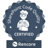 DeliverPoint SharePoint Add-In Pro is Rencore Certified