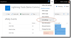 Applying SharePoint Online Column Formatting