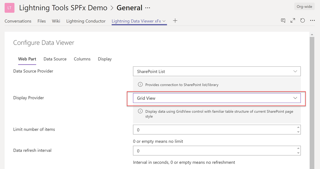 Build Charts in Microsoft Teams and SharePoint Online - Lightning Tools