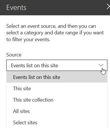 Modern SharePoint Web Parts: Events, Calendar, Countdown